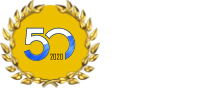 GFC logo for fifty years of ferry services in greece